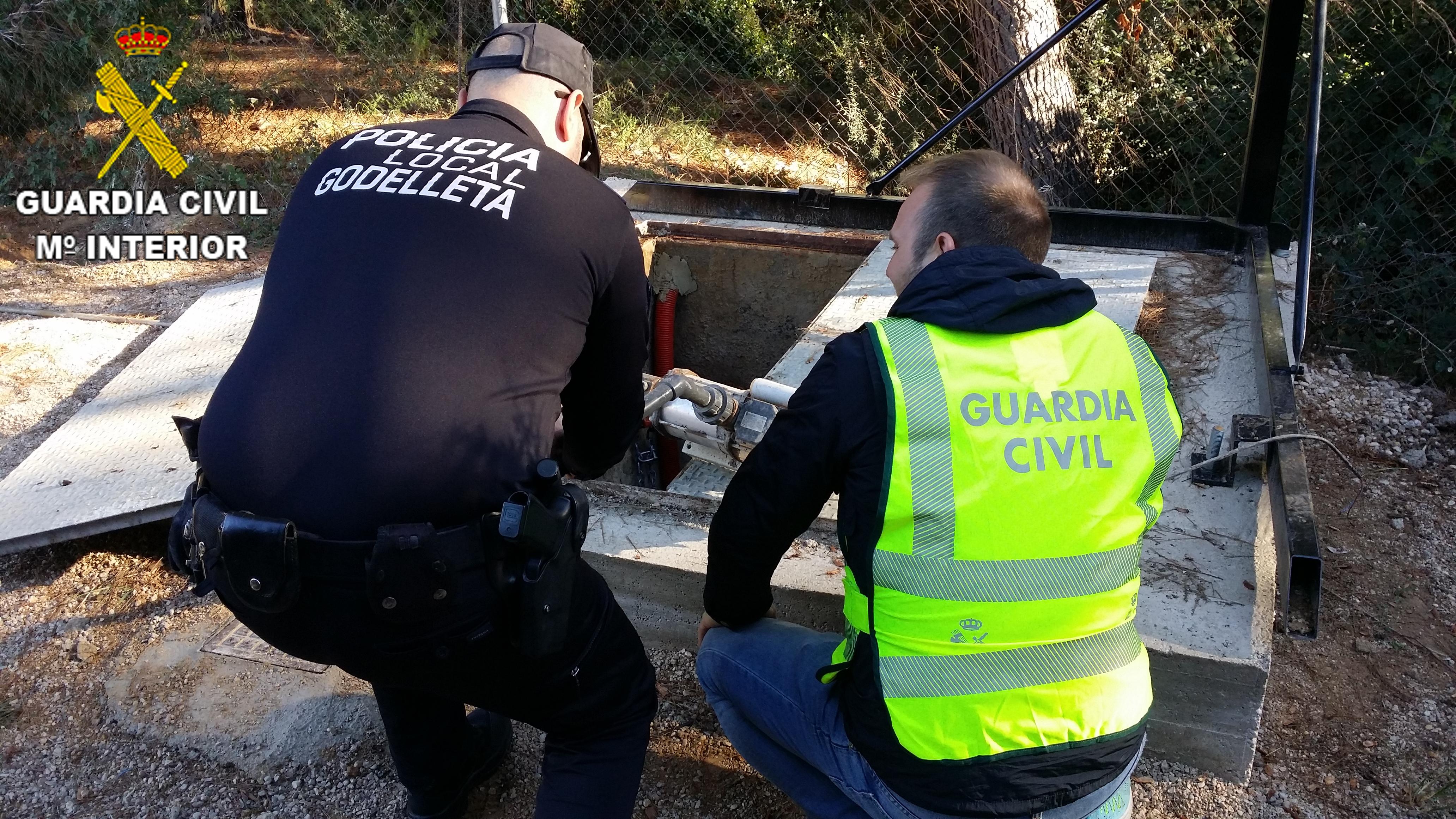 La bomba de oxigenación estaba valorada en 5000€ y arroja un peso de unos 60 kilos.