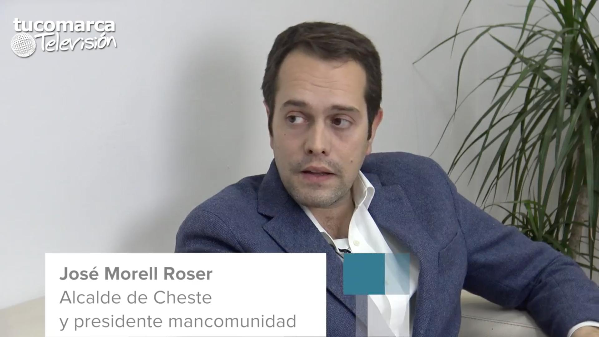 El alcalde de Cheste, José Morell, y también presidente de la mancomunidad.