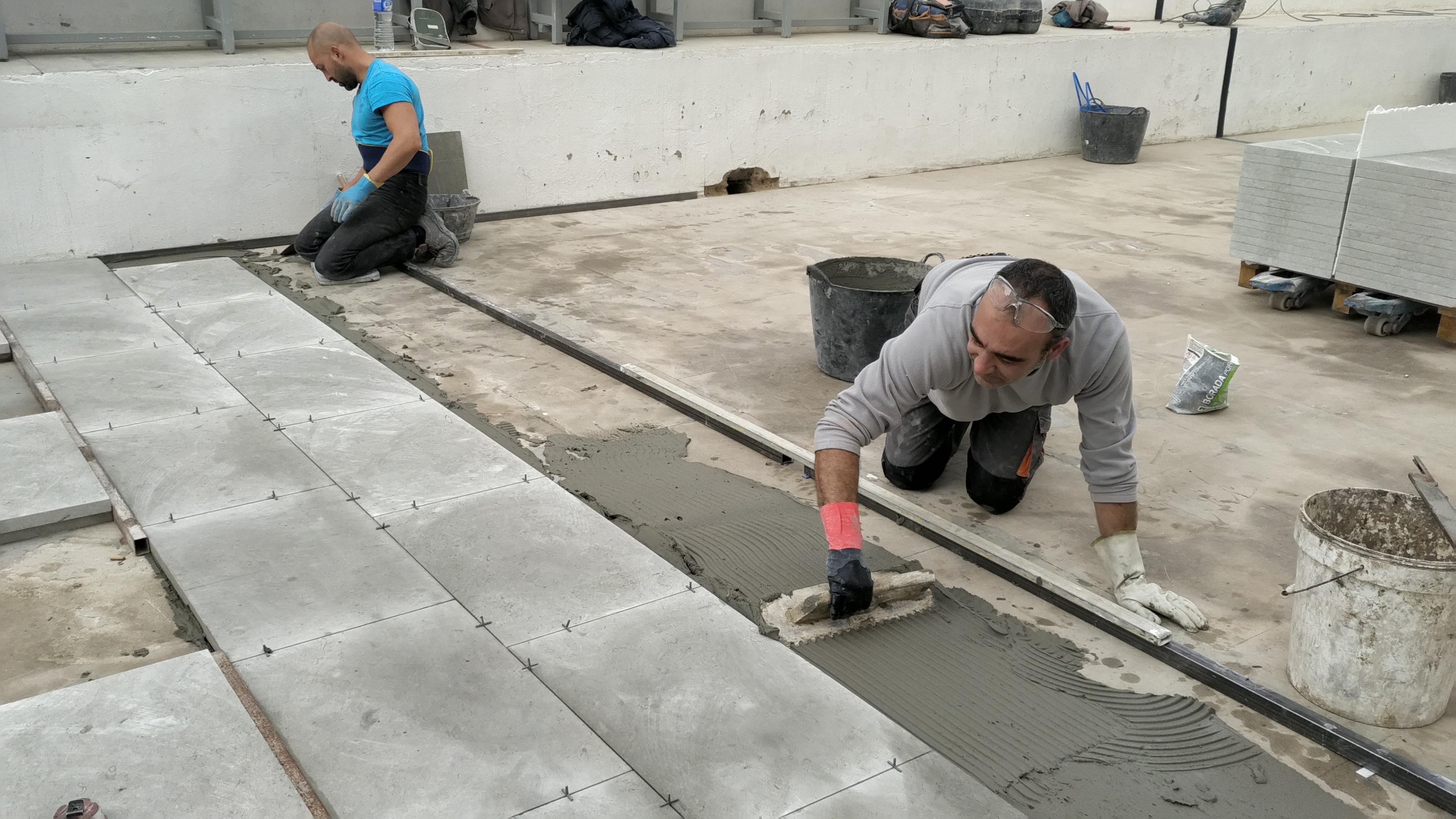 Les obres van començar dimarts passat i es perllongaran durant el pròxim mes de gener.