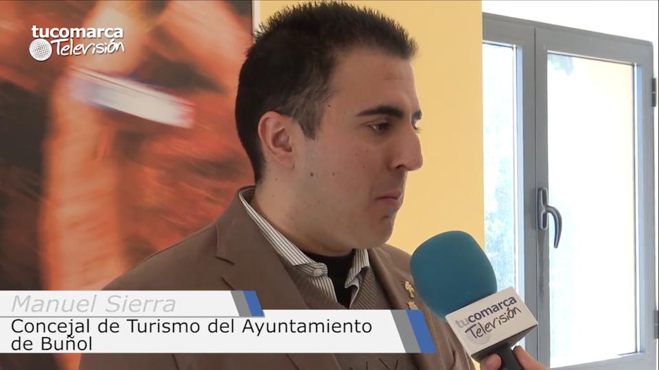 El concejal de Turismo del Ayuntamiento de Buñol, Manuel Sierra.