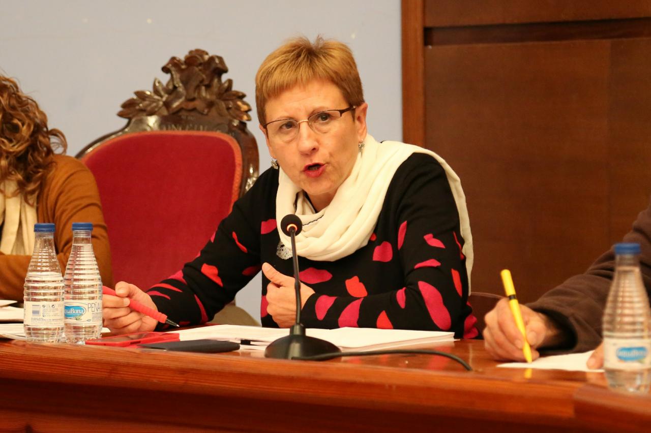 La concejala de Medio Ambiente del Ayuntamiento de Cheste, Mª Ángeles Llorente.