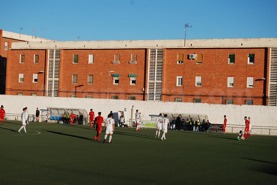 El CD Buñol se mide este martes al Villarreal C. Foto: Raúl Ferrer.