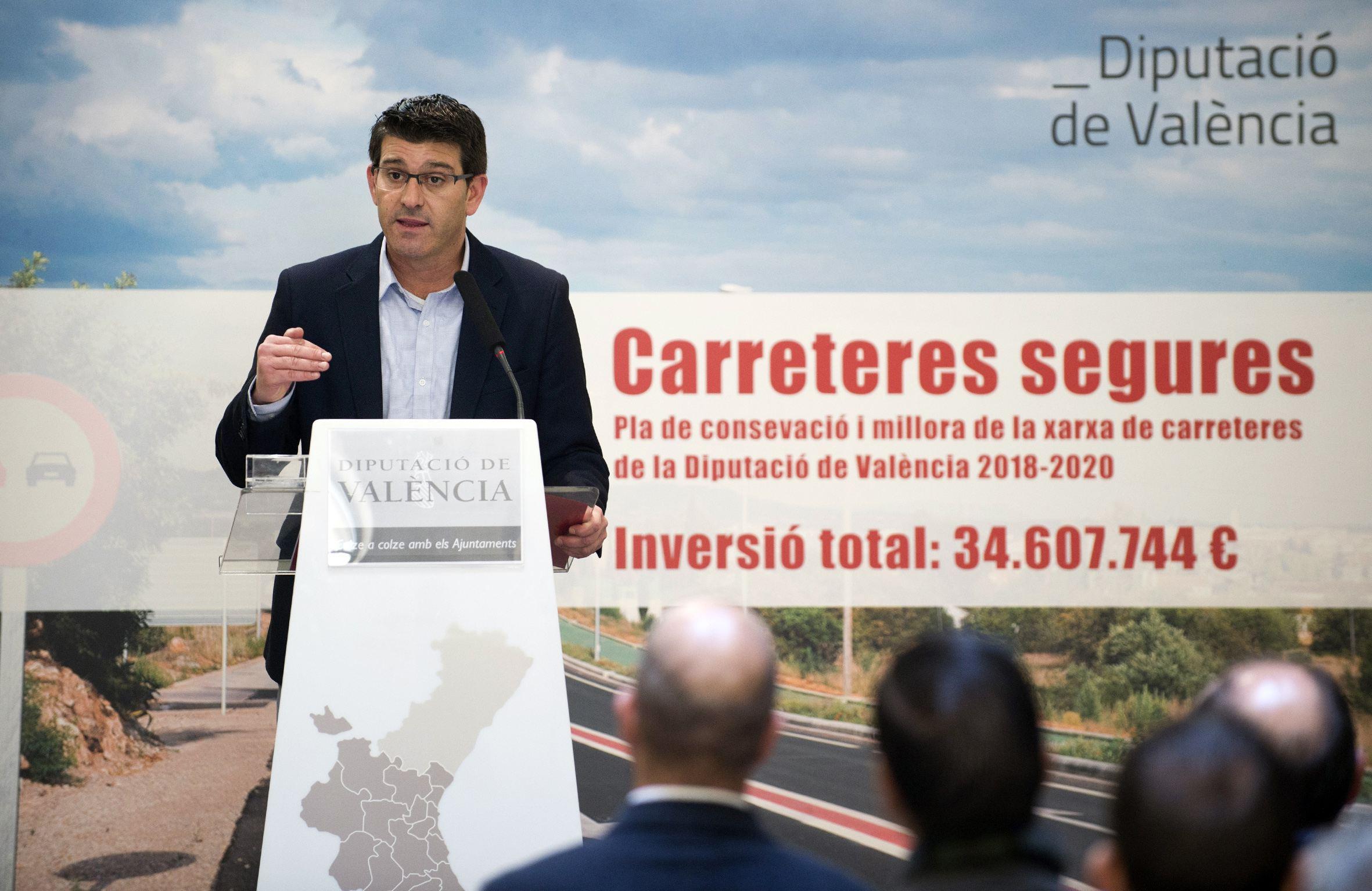 Jorge Rodríguez y Pablo Seguí presentan el nuevo plan de conservación para los próximos tres años.
