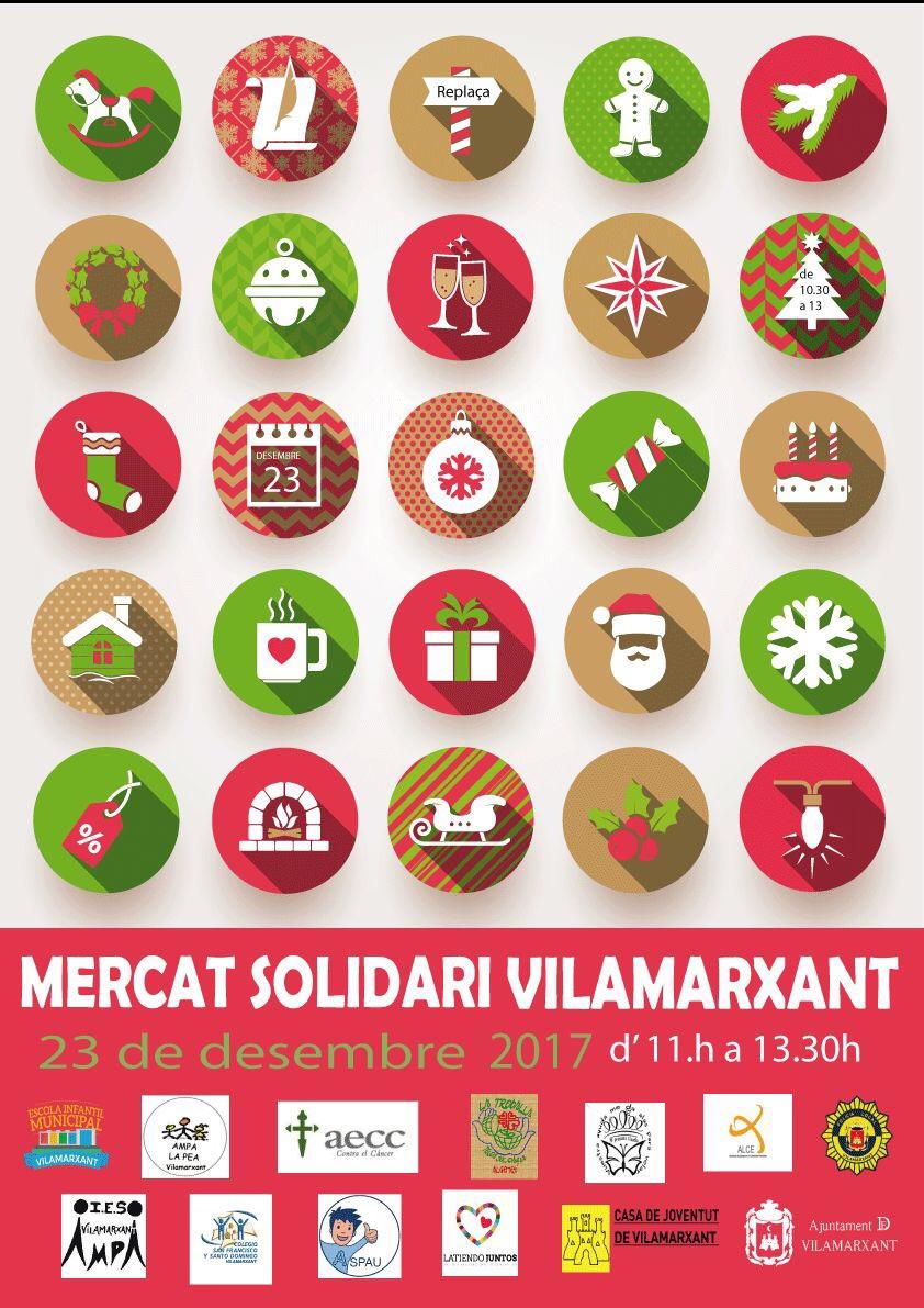 Este dissabte Vilamarxant té una cita amb la solidaritat en el tradicional Mercat Solidari de Nadal.