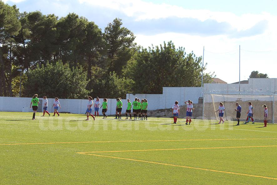 La UD Yátova femenino ha sumado un punto tras su último empate. Foto: Raúl Miralles.