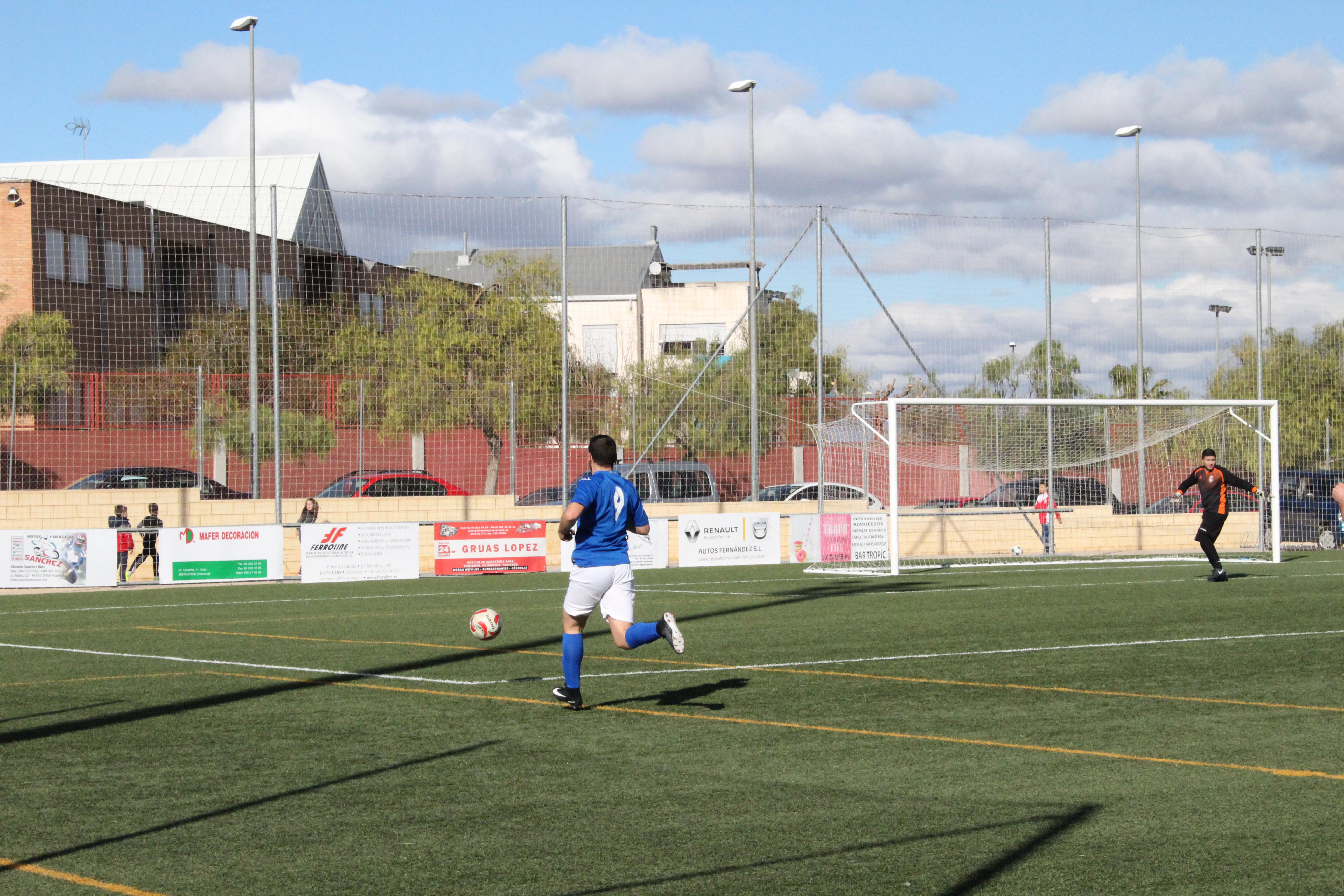 El CD Turís quiere volver a la senda de los tres puntos contra el Zafranar A. Foto: Raúl Miralles.