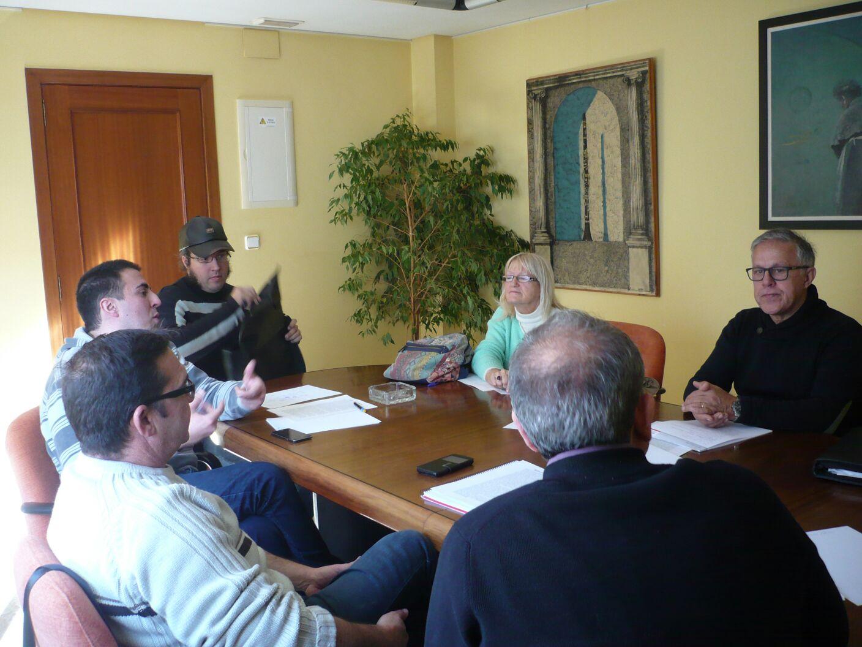 Las instalaciones de la empresa municipal Buinsa han acogido la primera reunión de este año.
