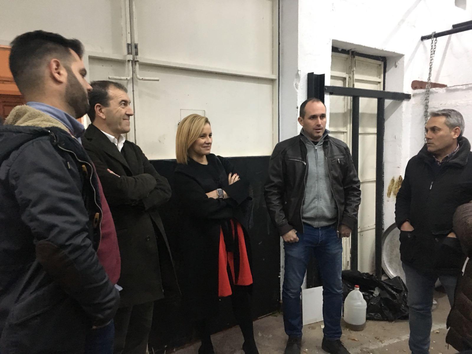 Mari Carmen Contelles se ha reunido con el presidente de la Federación Española del Toro de Cuerda, Javier Tarín, entidad impulsora del proyecto.