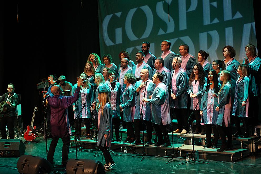 El concierto se hizo en colaboración con la Asociación Esclavitud XXI, cuyo trabajo se centra en la lucha contra cualquier forma de esclavitud en la actualidad.