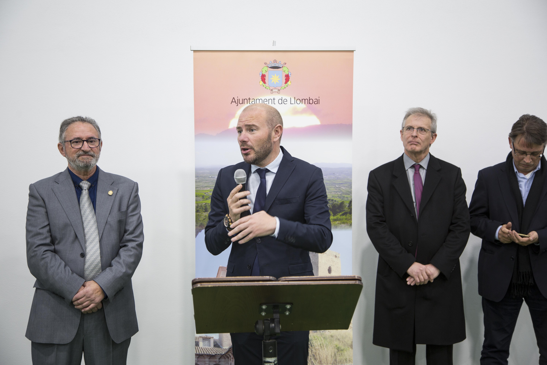 La Diputació de València salda una deuda histórica renovando las instalaciones deportivas de Llombai.