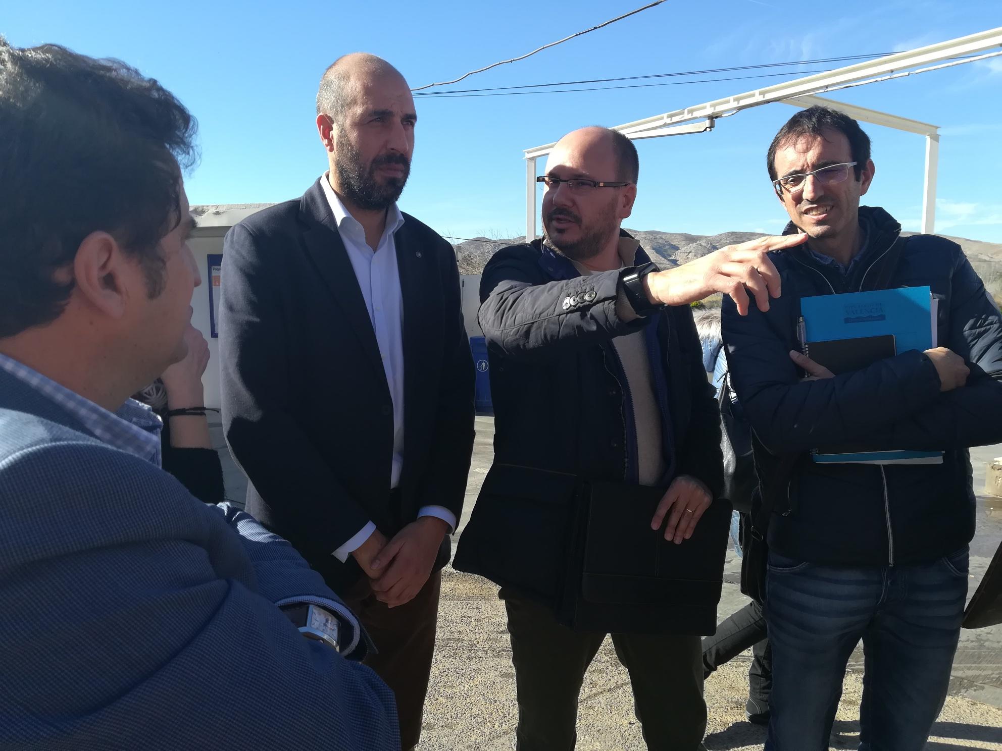 La Diputació de València refuerza la seguridad vial en Pedralba mientras se resuelve el PORN de la conselleria.