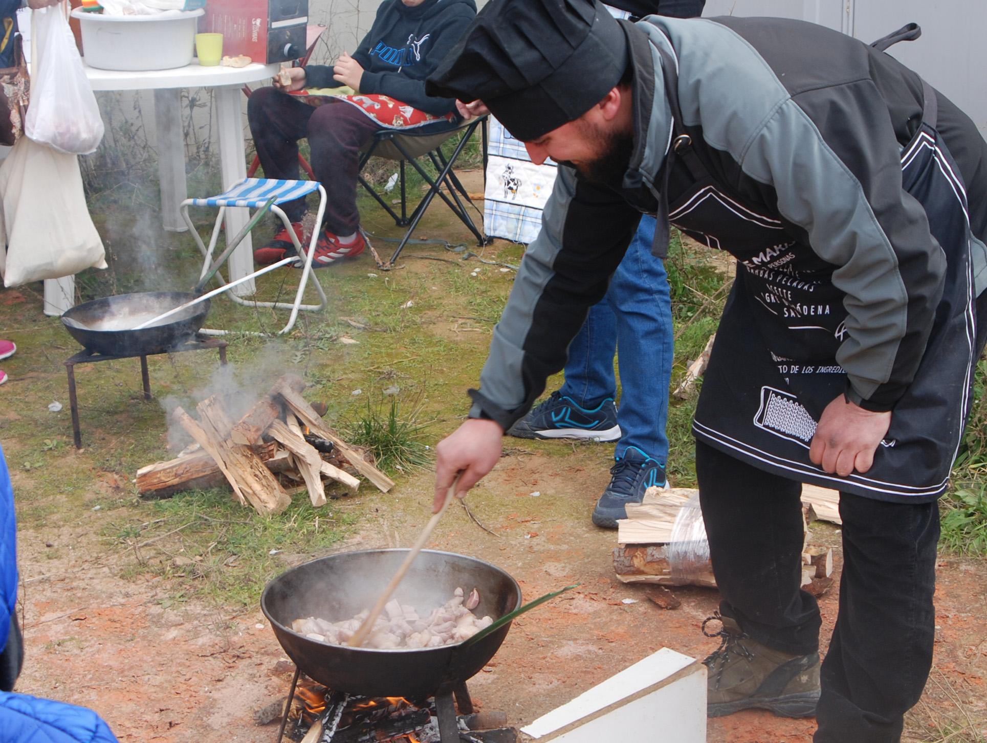 Anterior edición del Concurso de Elaboración de Cachulí, uno de los platos más tradicionales de la localidad.