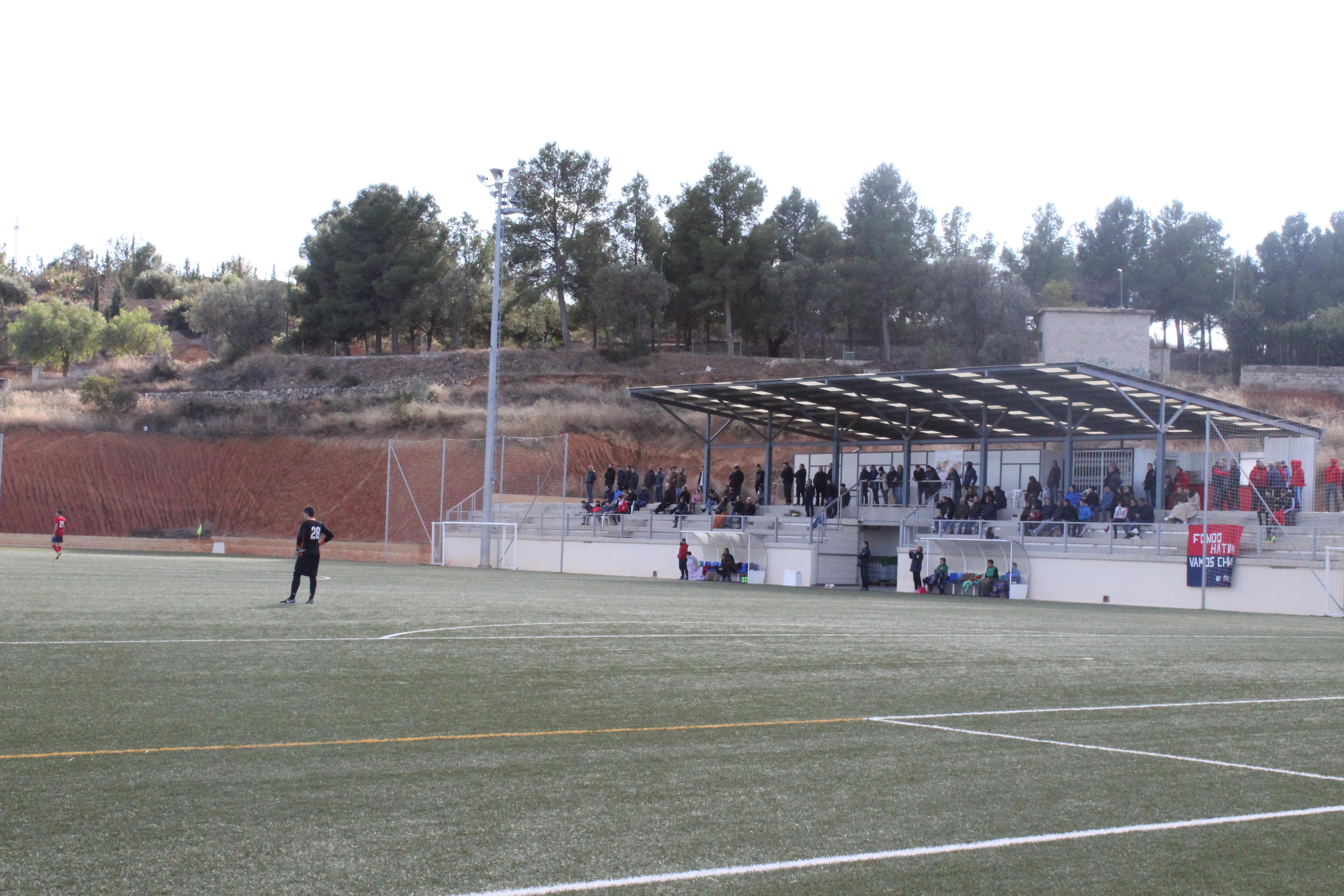 El Chiva CF sigue intratable en su terreno de juego, La Murta. Foto: Raúl Miralles Lacalle.