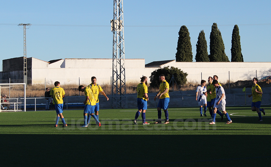 El Avant Aldaia ha conseguido darle la vuelta al marcador frente al Macastre. Foto: Raúl Miralles Lacalle.