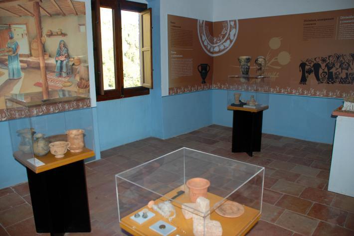Colección museográfica Casa de la Senyoria de la villa de Olocau (València).