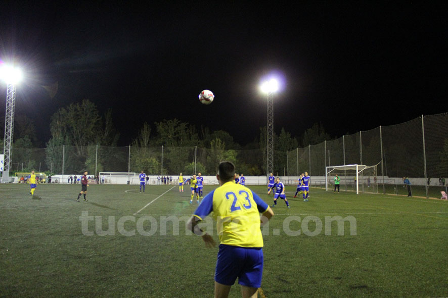 El CD Cheste no ha podido doblegar al Zafranar A contra el que ha caído por 2 goles a 1. Foto: Raúl Miralles.