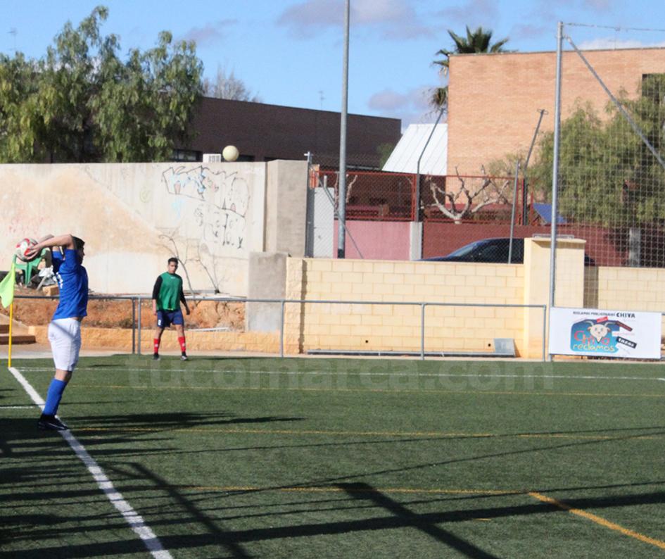 El CD Turís recibe la visita de un Paterna que no se lo pondrá nada fácil. Foto: Raúl Miralles.