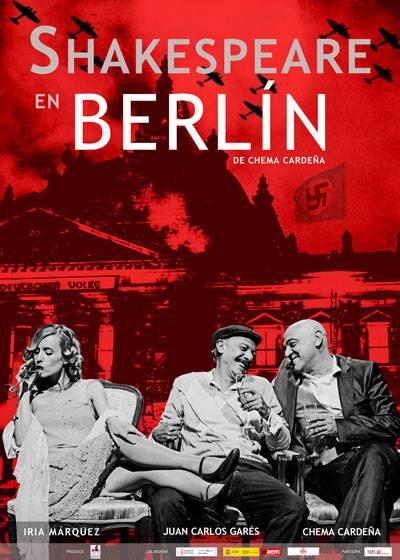 """En el mes de abril, en el Teatro Montecarlo la obra """"Shakespeare en Berlin""""."""