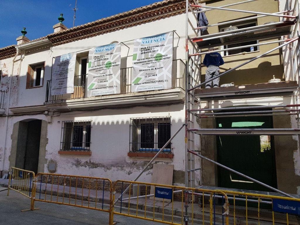 Alcàntera del Xúquer construeix la seua nova biblioteca amb ajuda de la Diputació.