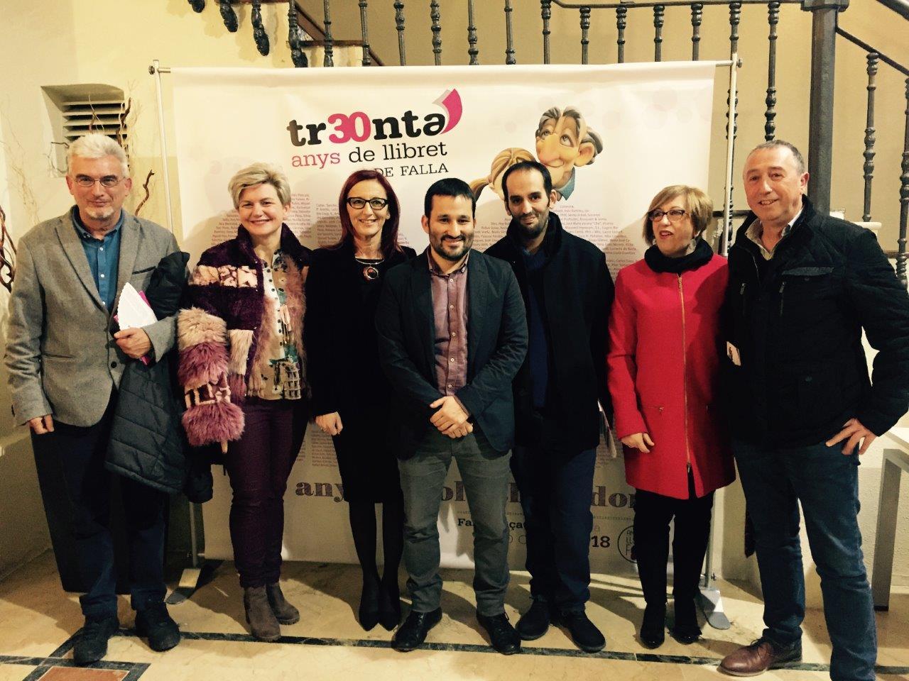 Al llibret, realitzat per la Falla Plaça Malva d'Alzira, també ha col.laborat la vicepresidenta de la Diputació de València.