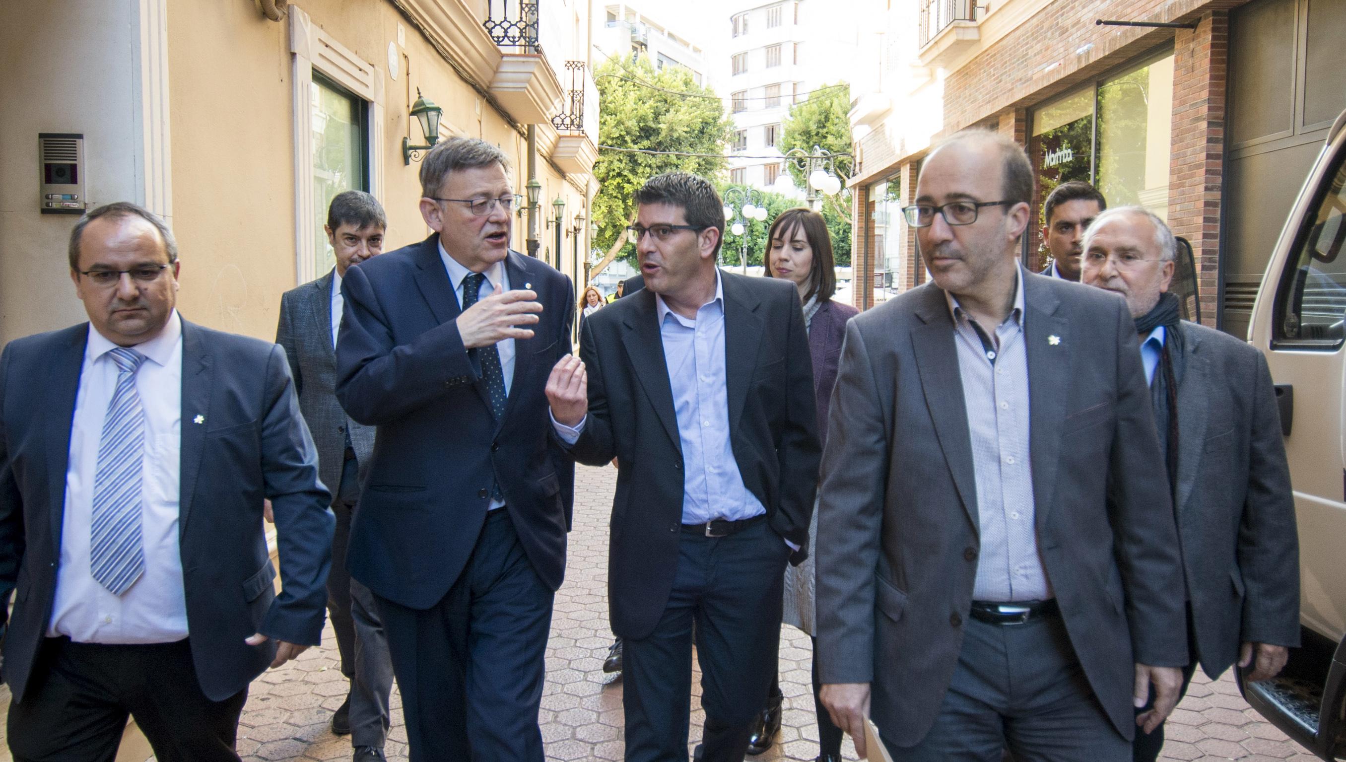 Conferencia Internacional Mancomunidades realizada en Alzira con la participación de Ximo Puig y Jorge Rodríguez.