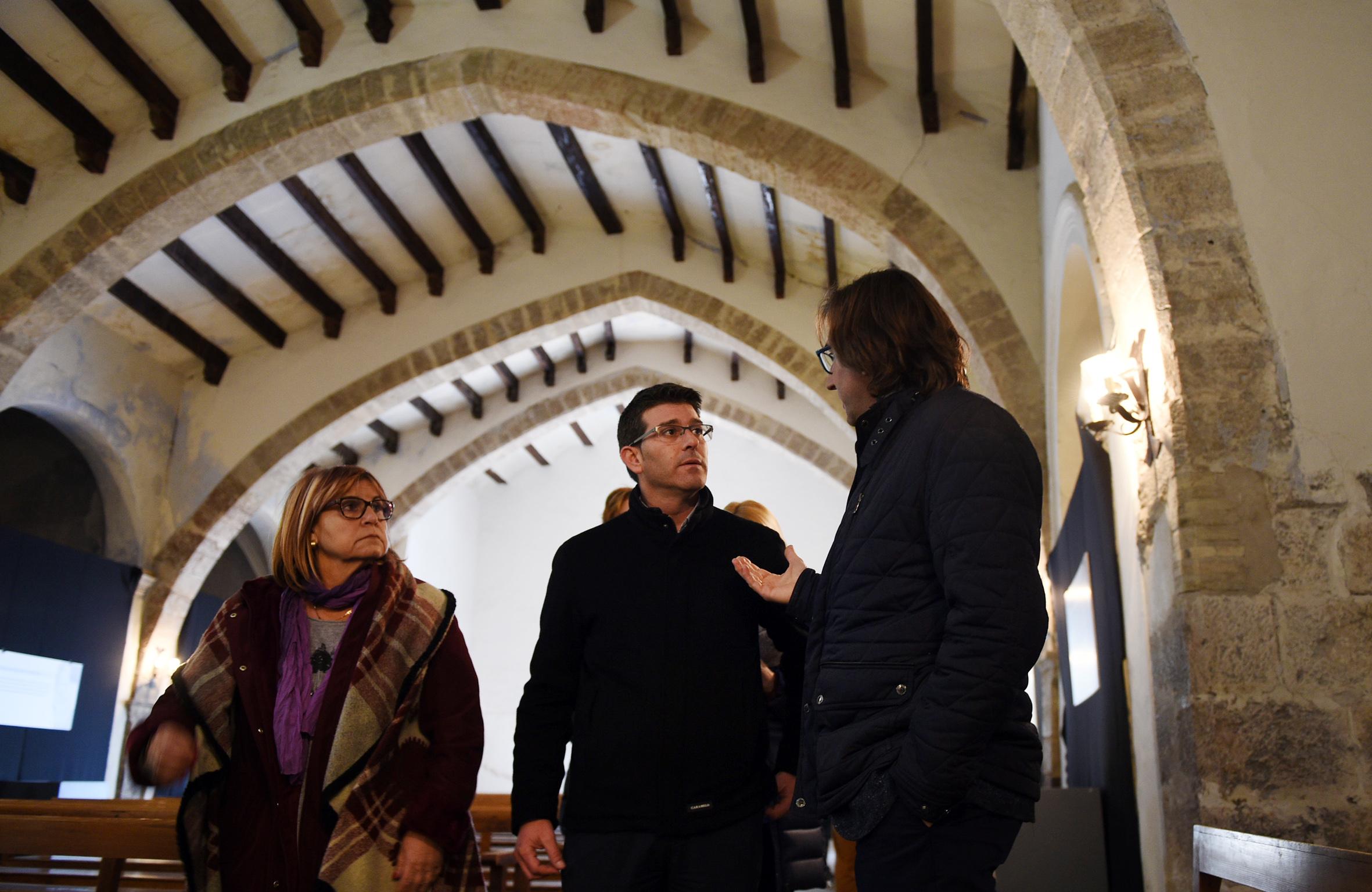 El presidente, Jorge Rodríguez, ha visitado la comarca para explicar las inversiones de este año, con más de 3 millones de euros que permitirán desarrollar acciones concretas en 7 municipios.