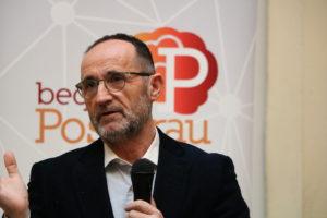 """El diputado provincial de Proyectos Europeos, Bartolomé Nofuentes: """"hay que apostar por modelos sostenibles, especialmente en un campo como el de la movilidad""""."""