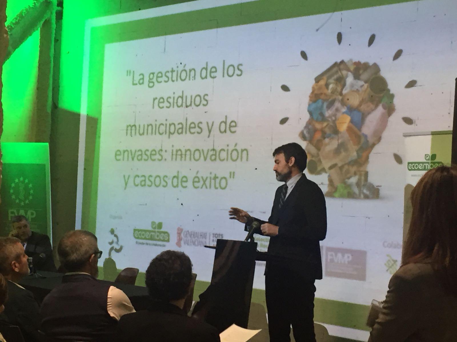 El gerente, Ángel Rodríguez, ha explicado esta herramienta que premia el buen comportamiento de la ciudadanía en materia de reciclaje.