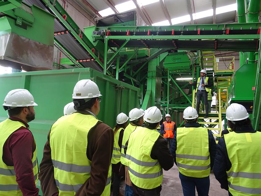 Recuperación de 1.542 toneladas de vidrio con la nueva línea de Caudete.
