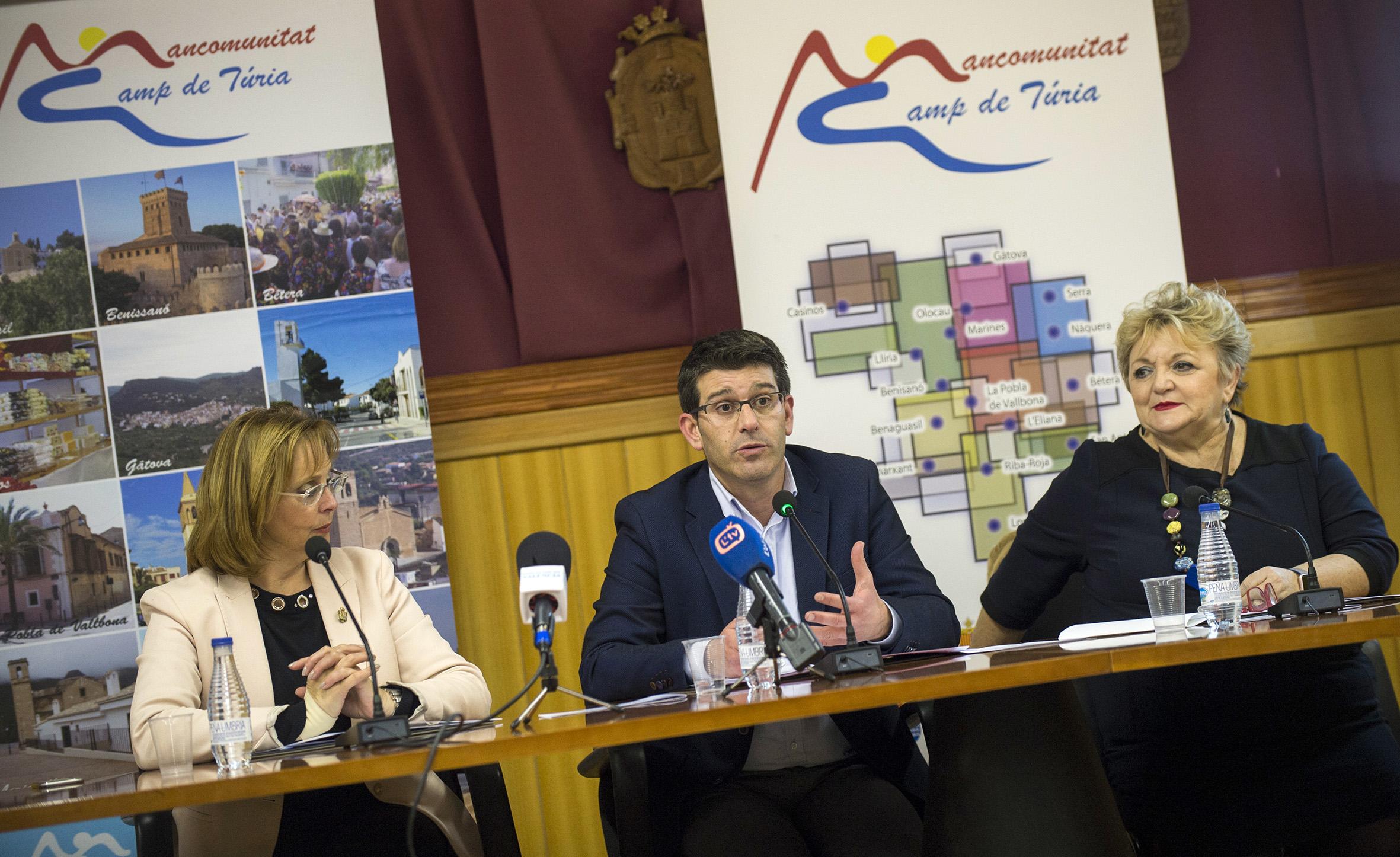 Jorge Rodríguez avanza las partidas del Presupuesto de este año en la comarca con 4,3 millones para obras y servicios, 960.000 para caminos, 560.000 para empleo y 420.000 para cubrir daños por lluvias.