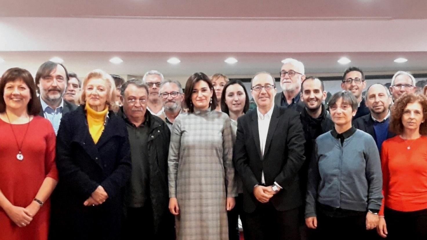 Carmen Montón ha mantenido esta mañana un encuentro con los alcaldes y alcaldesas de las poblaciones adscritas al departamento de salud de La Ribera.