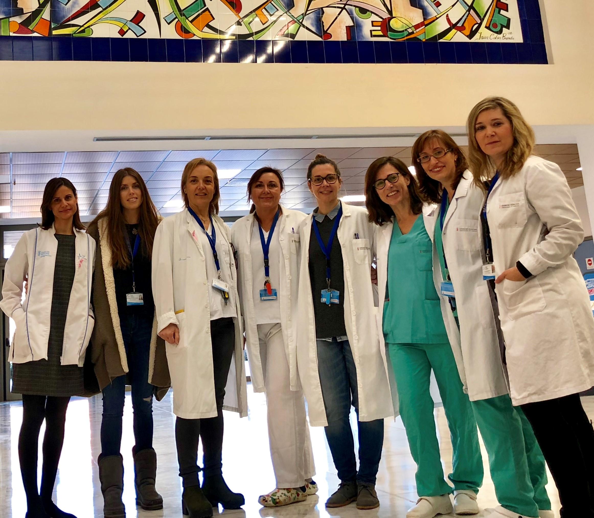 El 48%de los proyectos de investigación del Hospital son liderados por mujeres.
