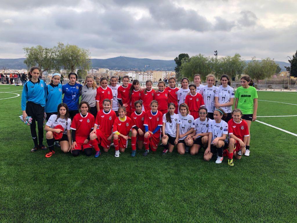 Las jóvenes jugadoras han sido elegidas para la Selección Valenciana de Fútbol Femenina.