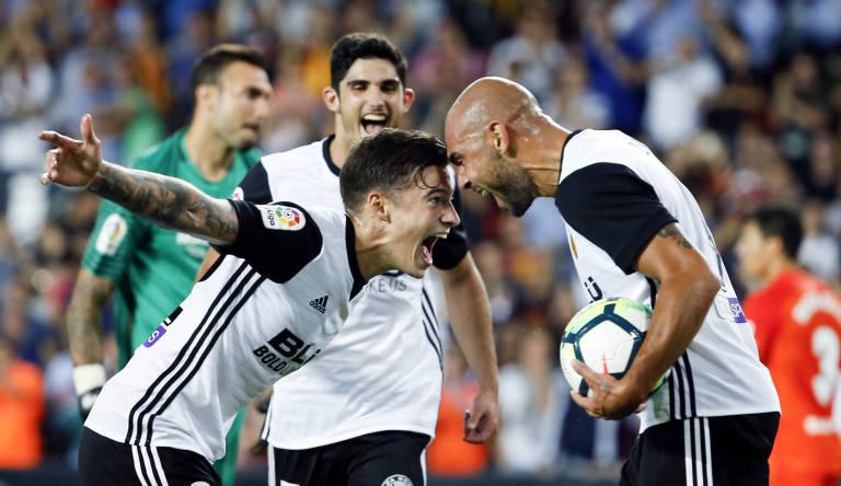 El Valencia CF se enfrentará este sábado al Málaga. Foto: Plaza Deportiva.
