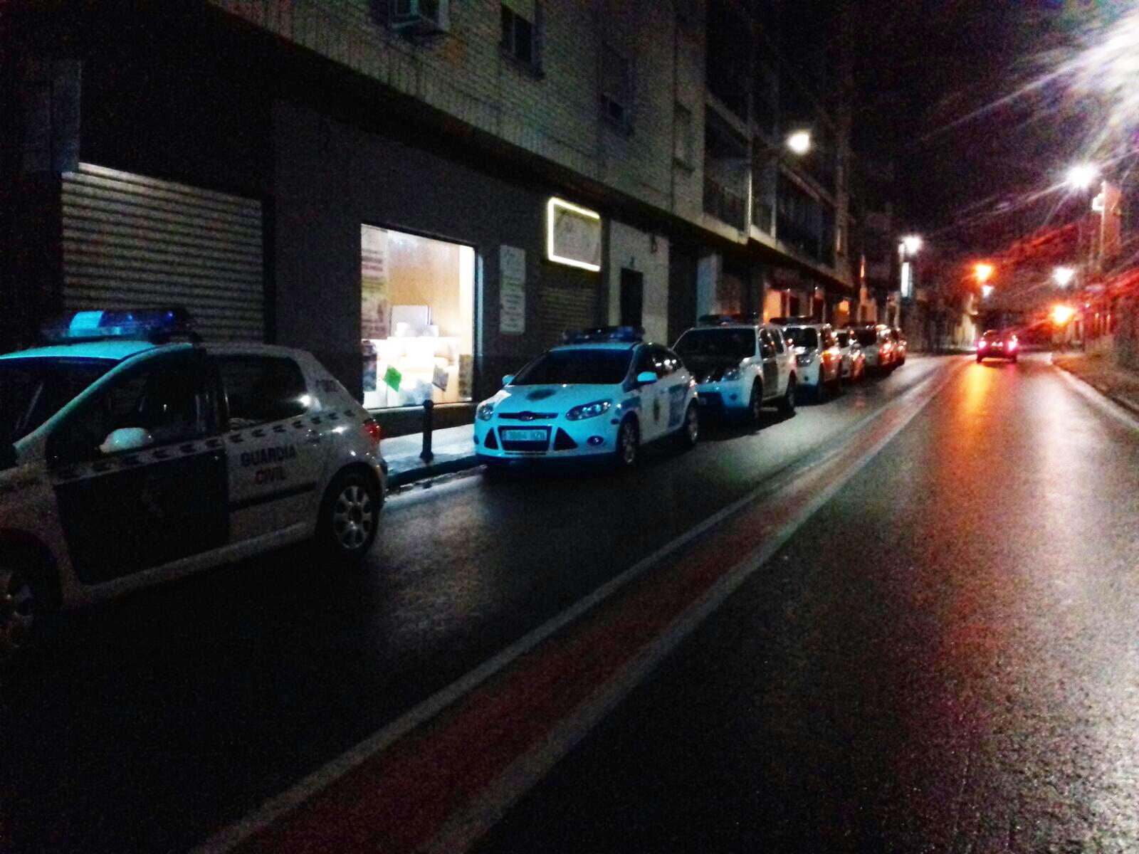 Va tindre lloc este dissabte a un establiment d'oci nocturn de Vilamarxant amb la participació de 20 efectius de seguretat.