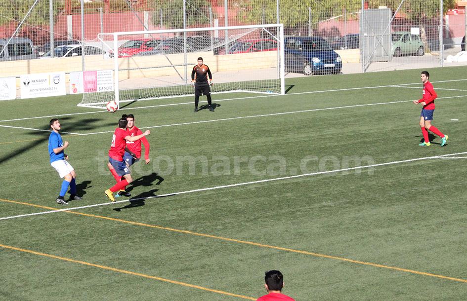 El Chiva ha conseguido frente al Alaquàs los tres puntos. Foto: Raúl Miralles.