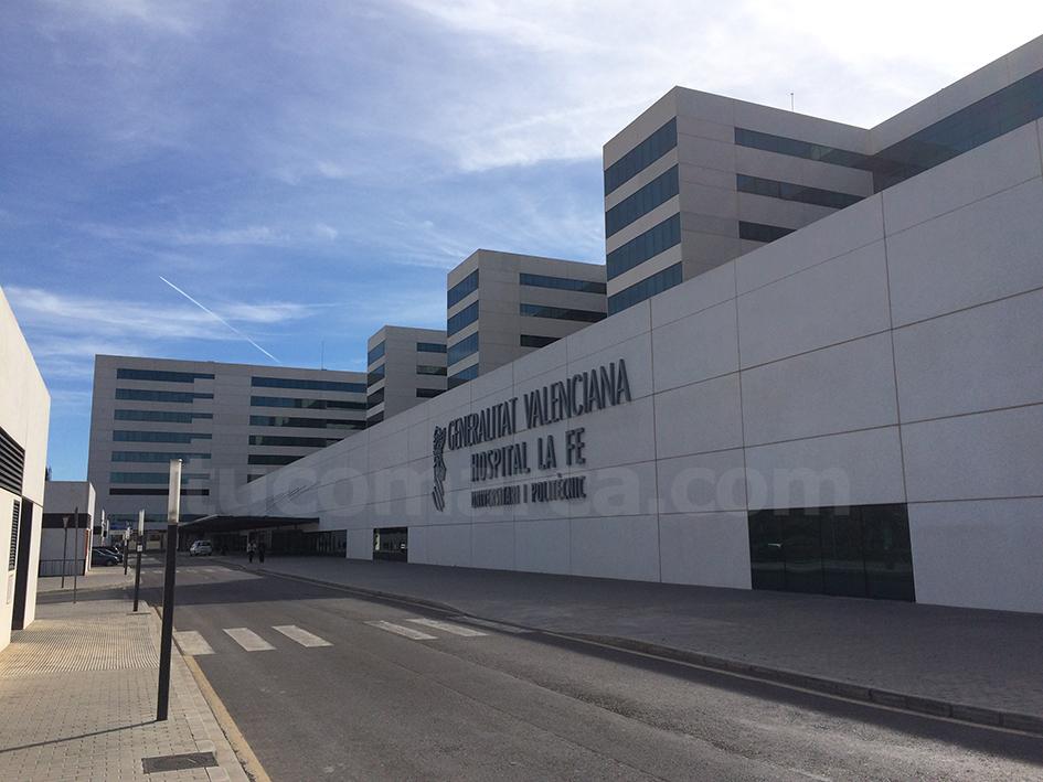 El Hospital Universitario La Fe de València.