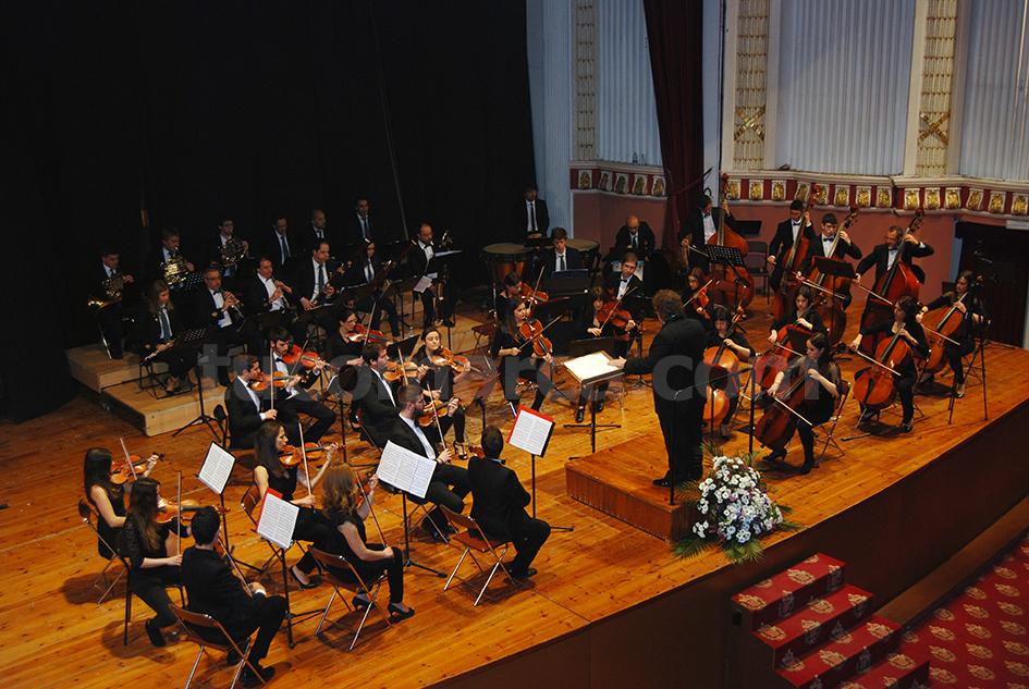 La Orquesta Sinfónica de «La Artística» de Buñol en una imagen de archivo.