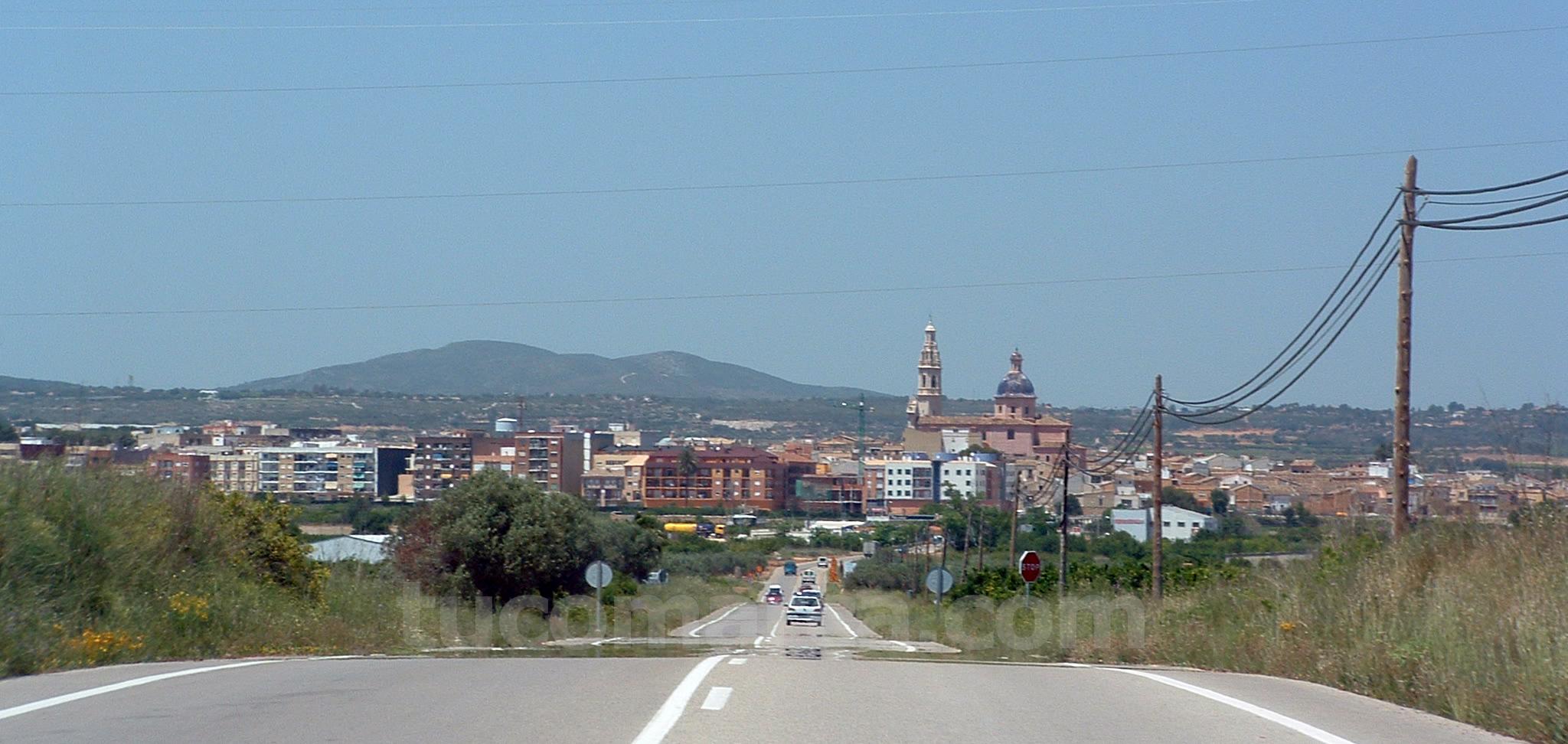 Una imagen de la localidad de Cheste.
