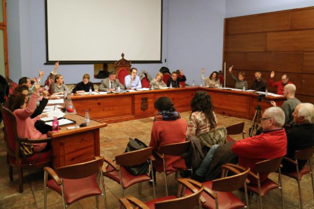El Ayuntamiento muestra su apoyo unánime a la Huelga Feminista del 8 de marzo.