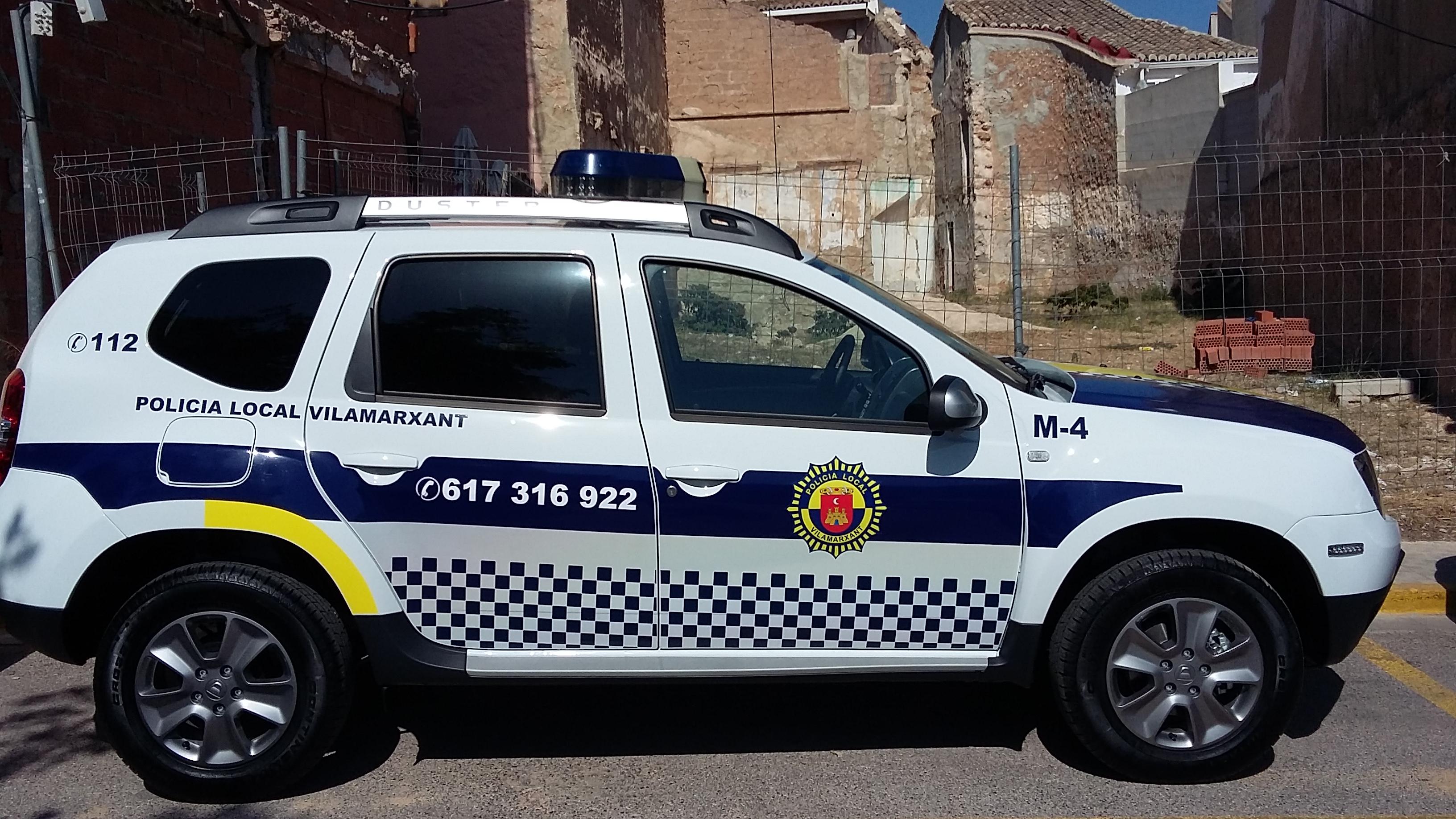 Vehicle de la Policia Local.
