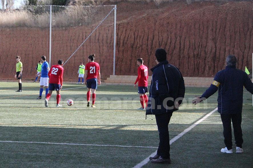 El Chiva podrá hacer valer el factor campo a su favor contra el Fonteta. Foto: Raúl Miralles Lcalle.