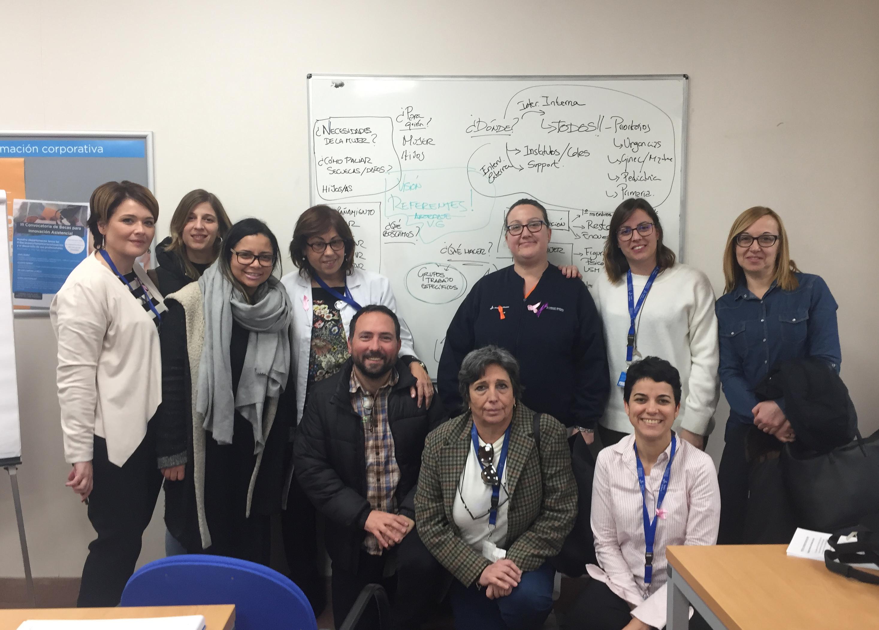 La Comisión Contra la Violencia de Género del Hospital de Manises cumple dos años siendo pionera en la red de hospitales públicos valencianos.