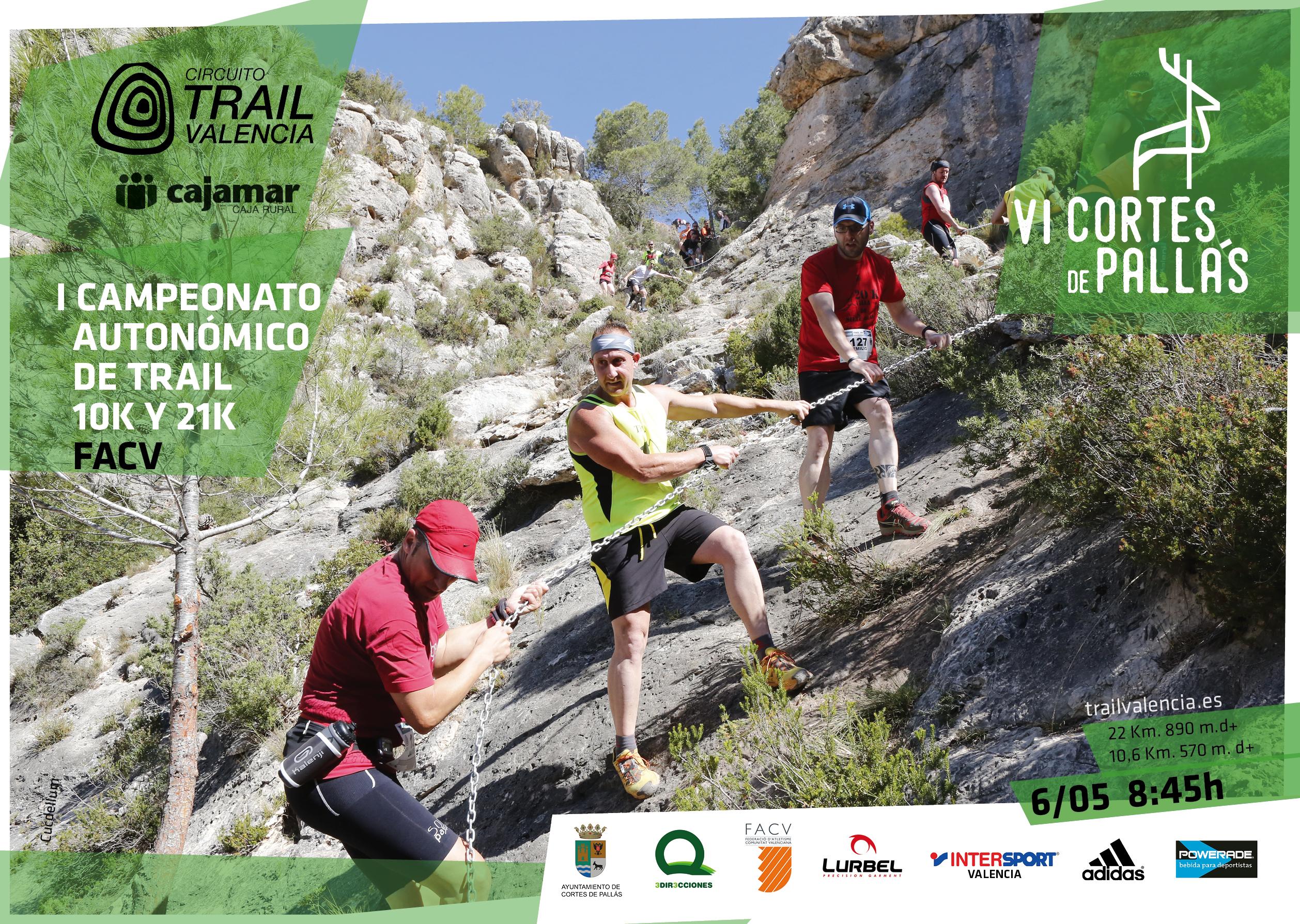 El Trail de Cortes de Pallás será Campeonato Autonómico de 21K y 10K.