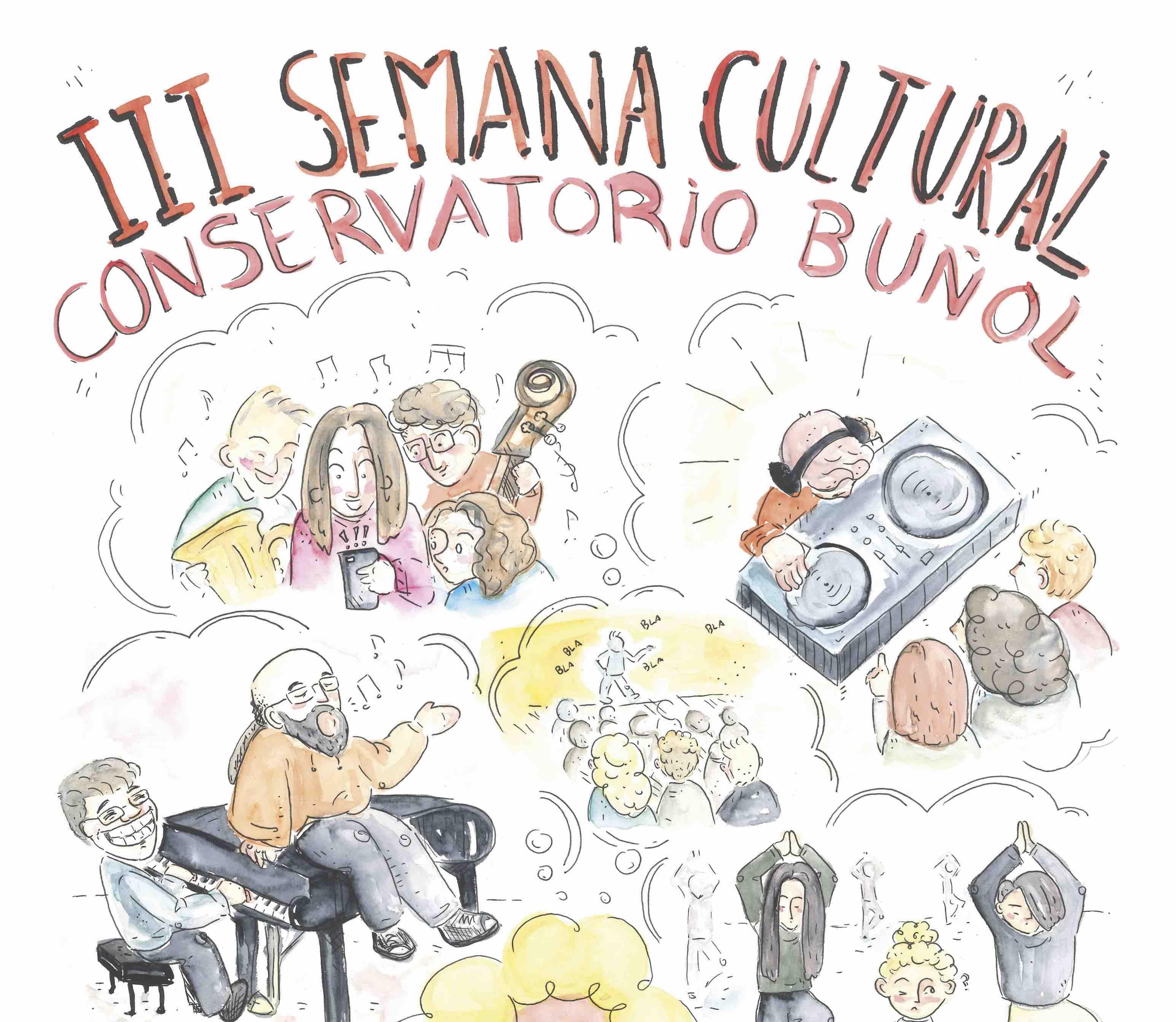 "IIIª Semana Cultural del Conservatorio Municipal Profesional de Música ""San Rafael"" de Buñol."