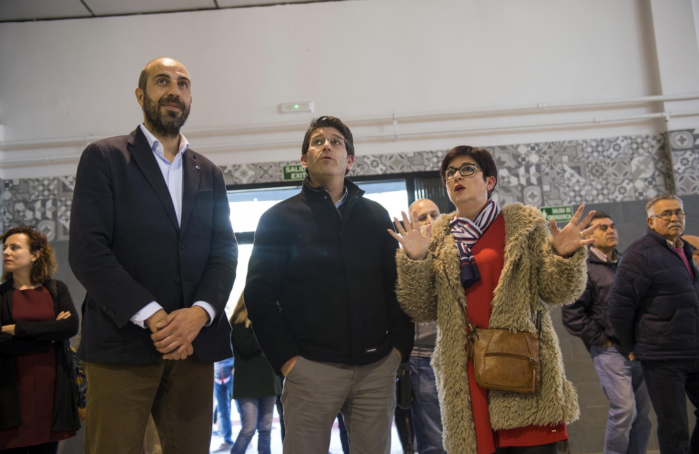 La Diputació ha invertido 100.000 euros en las sociedades musicales de Buñol y ha habilitado una sala social en el antiguo mercado municipal.