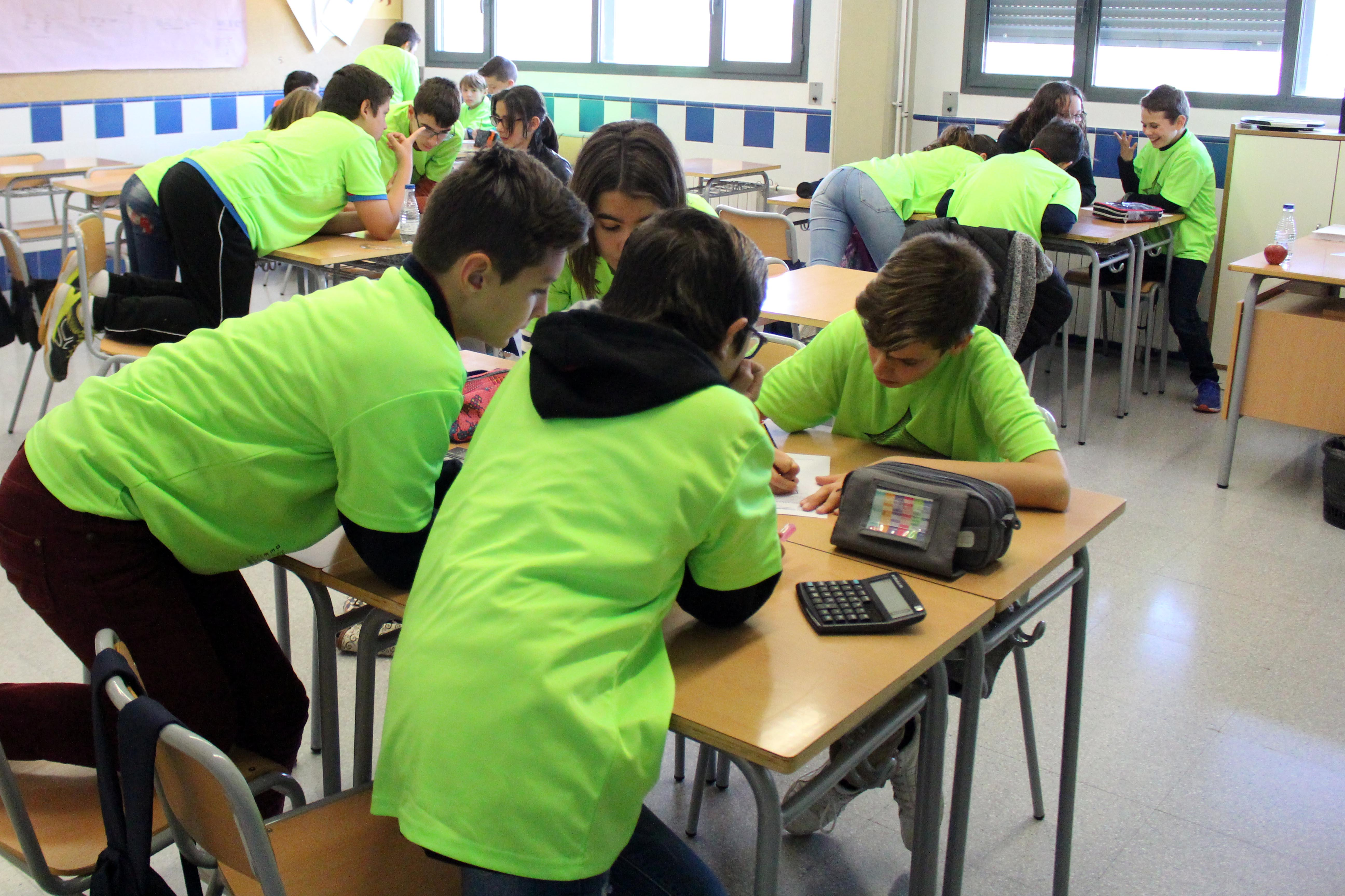 Fase comarcal de la Olimpiada Matemática 2018.
