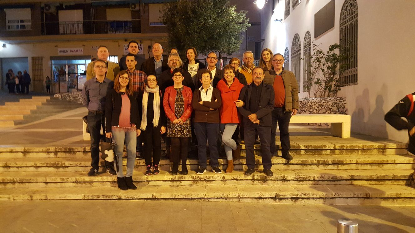 Integrantes de la nueva Ejecutiva Local del PSPV-PSOE de Buñol.
