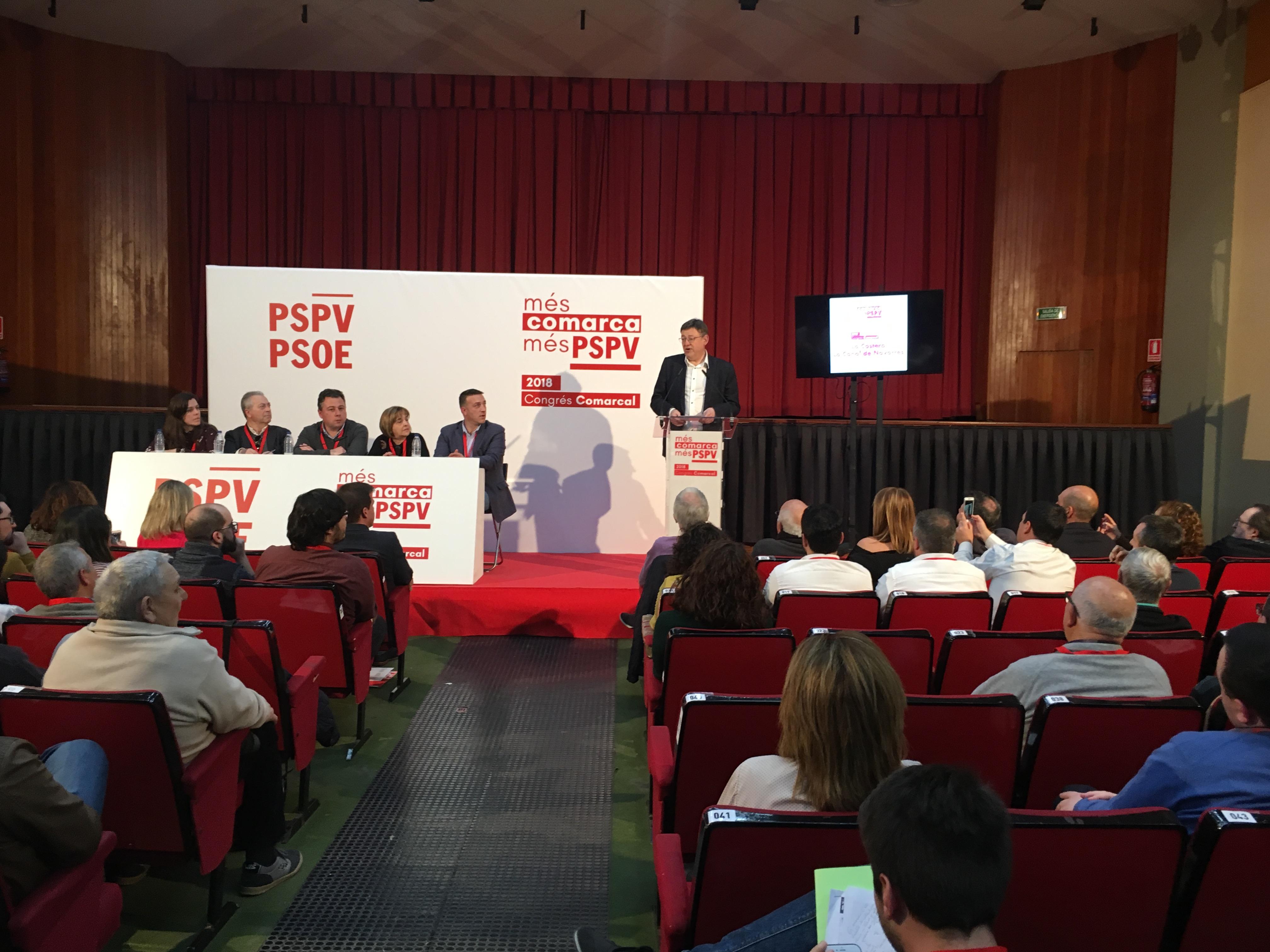 El líder de los socialistas valencianos también se ha referido al carácter municipalista y comarcalista de los socialistas valencianos.