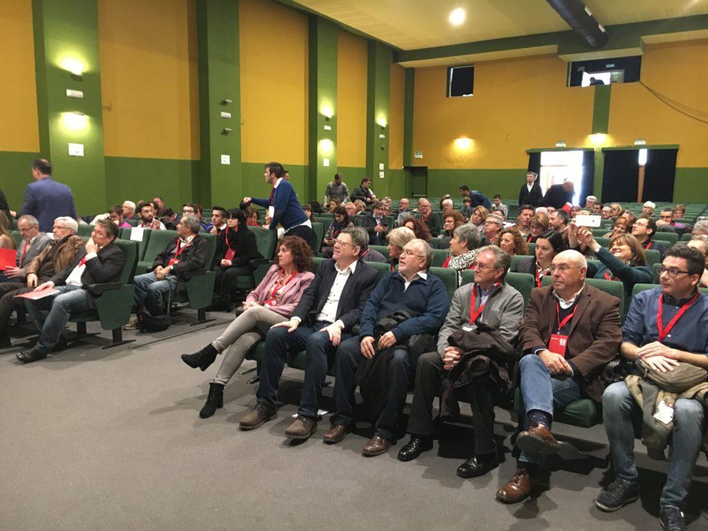 El secretario general del PSPV-PSOE, Ximo Puig ha participado hoy en la inauguración del congreso comarcal de La Ribera Alta que se ha celebrado en la localidad de Manuel.